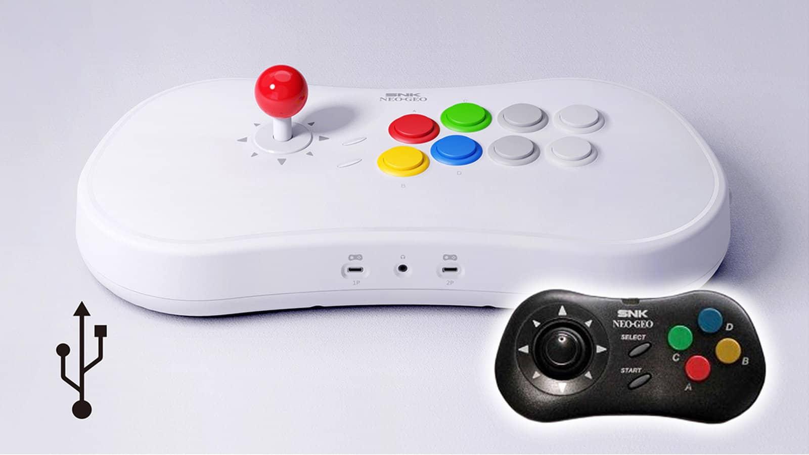 La console Neo Geo Arcade Stick Pro dévoile ses jeux embarqués
