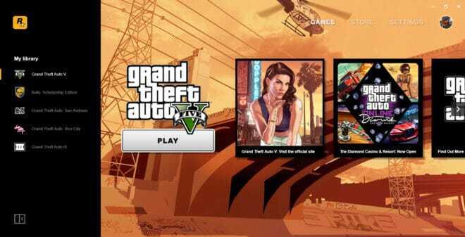Rockstar Games Launcher arrive sur PC.