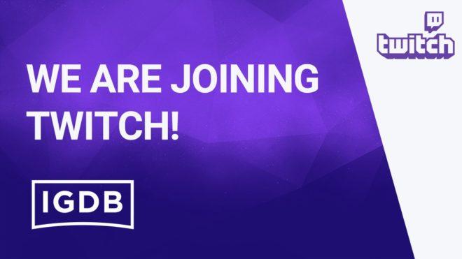 Twitch fait l'acquisition de la base de données jeux vidéo IGBd.