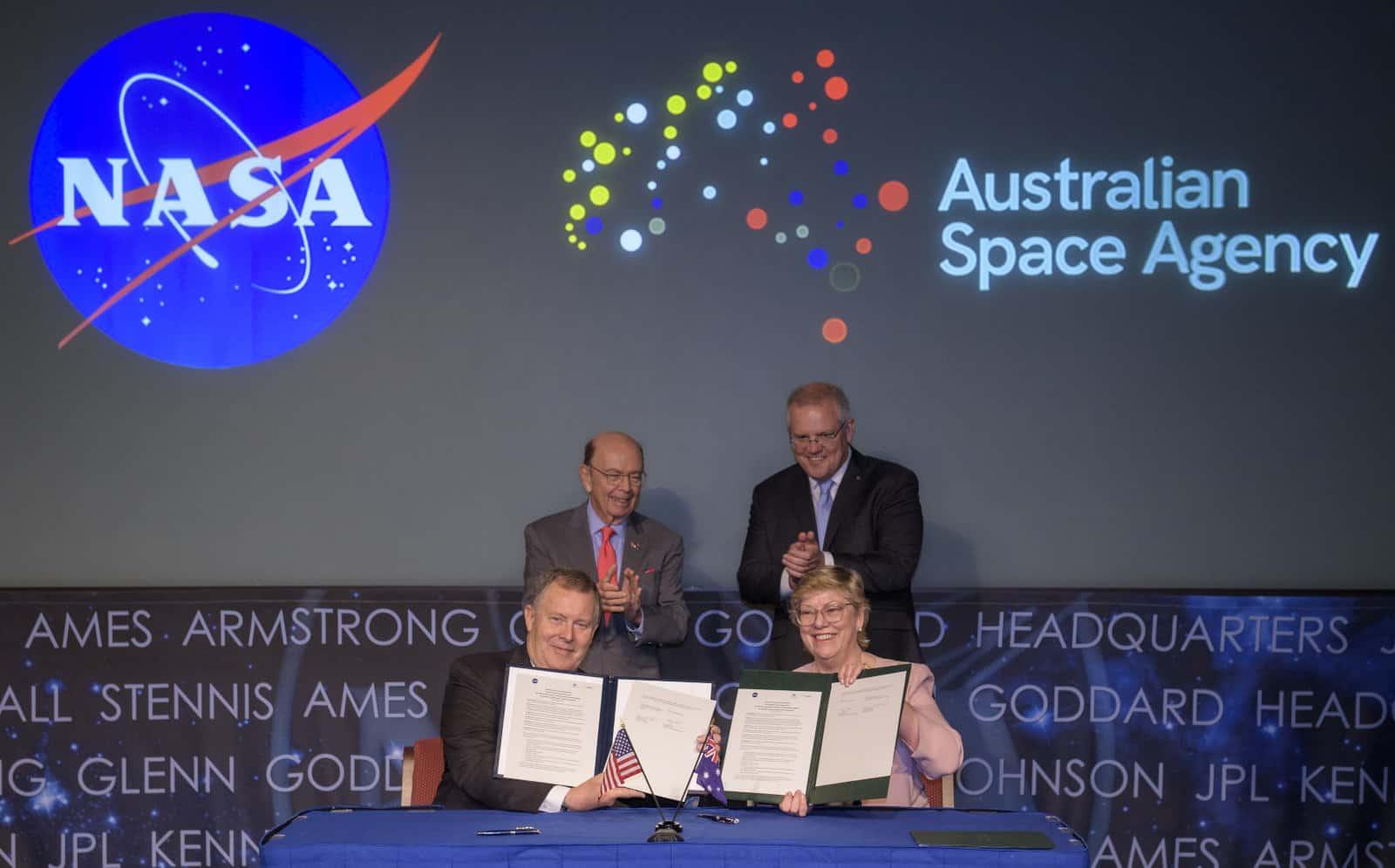 L'Australie va aider la NASA à aller sur la Lune et sur Mars