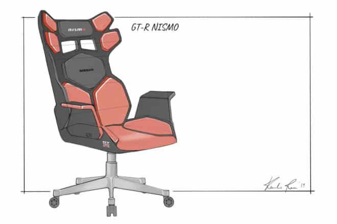 fauteuil gaming eSport Nissan