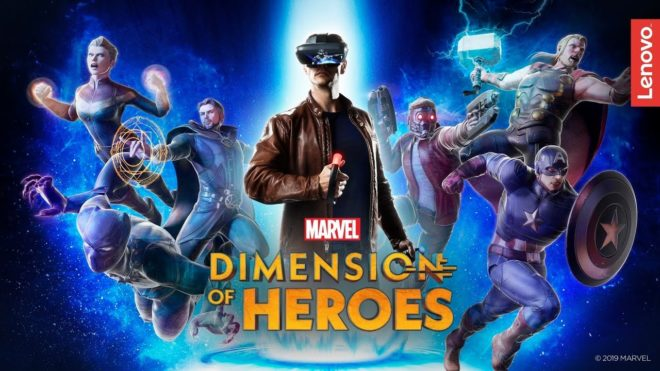 Marvel Dimension of Heroes Lenovo Mirage AR