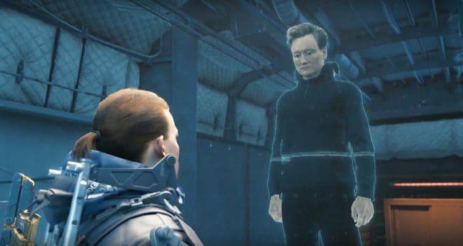 Conan O'Brien sera The Wondering MC dans Death Stranding.