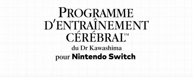 Les épreuves variées du Dr Kawashima vont bientôt sur Nintendo Switch.