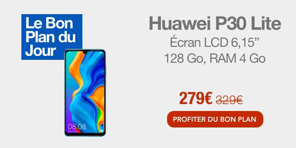 Bon plan : -15% sur le Huawei P30 Lite sur Darty