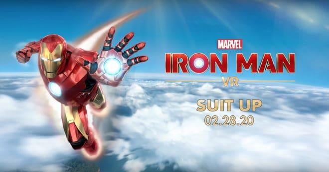 Une arrivée repoussée à l'année prochaine pour Iron Man VR sur PS VR.
