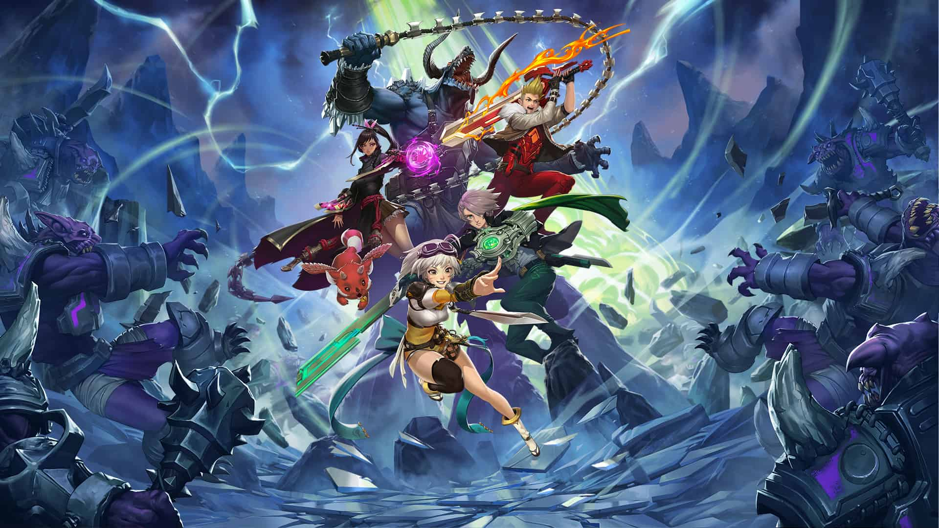 Battle Breakers : Epic Games annonce la sortie d'un RPG tactique au style cartoon