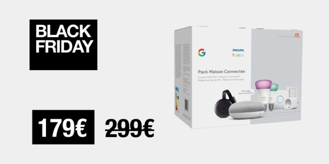 Black Friday Mono Philips Hue Google