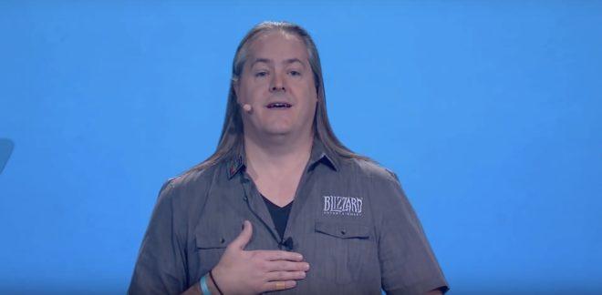 J. Allen Brack s'est prêté à l'exercice des excuses lors de la BlizzCon 2019.