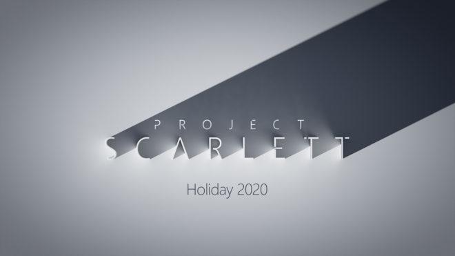 Les exclusivités Xbox Project Scarlett sortiront tous les trois à quatre mois.