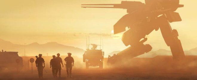 Un concept art de Metal Gear Solid.