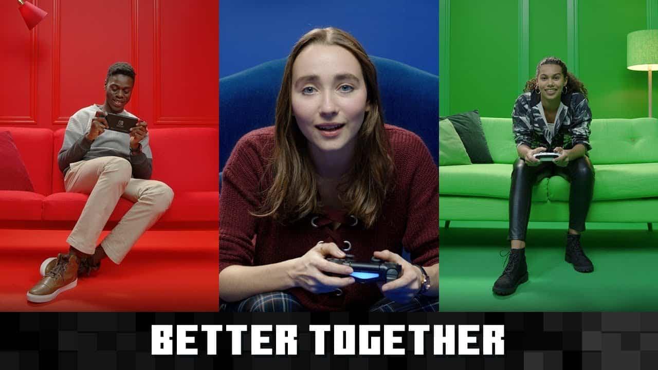 Minecraft : le cross-play arrive sur PS4