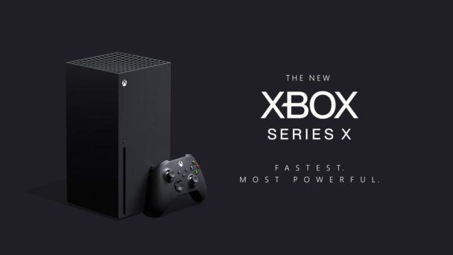 Xbox Series X, la nouvelle console de Microsoft.