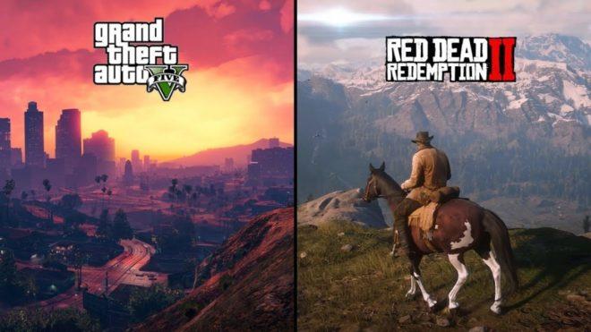 Des records pour GTA 5 et Red Dead Redemption 2.