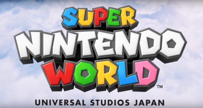 Le Super Nintendo World prend forme.