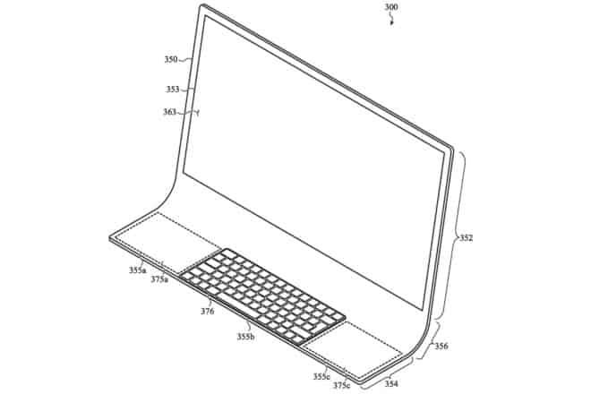 brevet Apple iMac écran incurvé