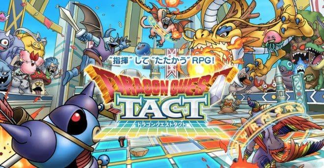 Dragon Quest va se la jouer tactique avec l'opus Tact.