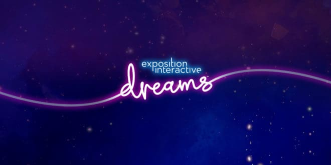 Dreams s'offre une exposition interactive.