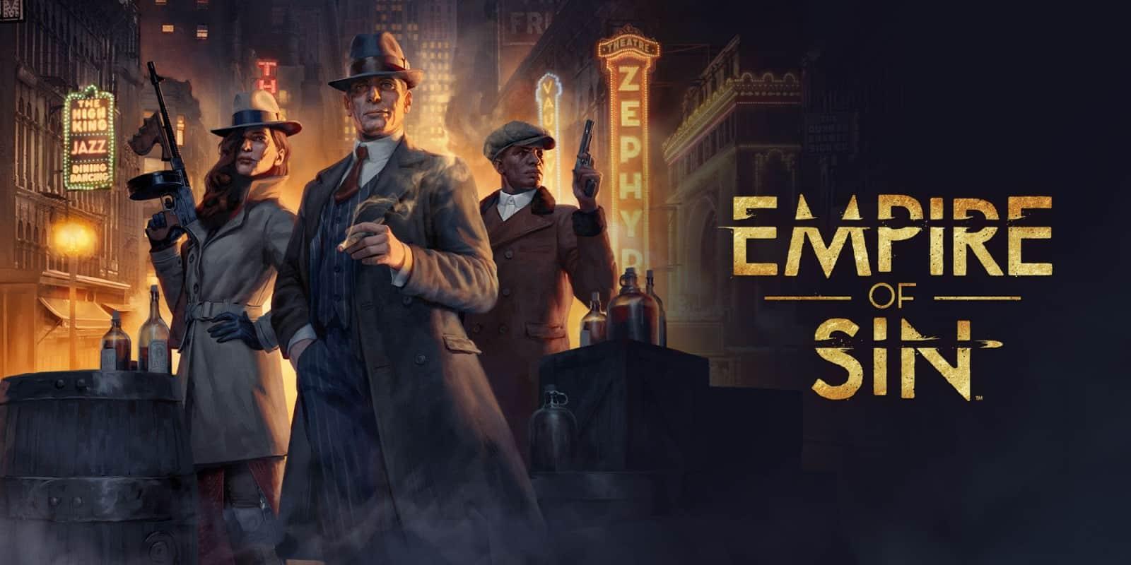 Empire of Sin : Romero Games reporte le lancement du jeu de stratégie criminelle