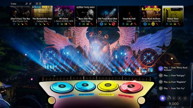 Fuser, le simulateur de DJ du studio américain Harmonix.