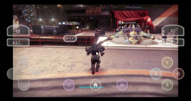 Destiny 2 sur Google Stadia avec TouchStadia.