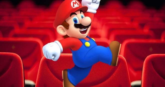 La production du film d'animation Super Mario Bros avance.