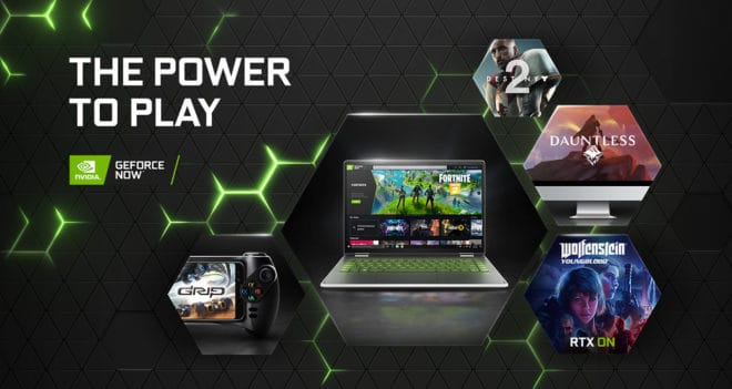 GeForce Now se lance de manière officielle sur le marché du cloud gaming.