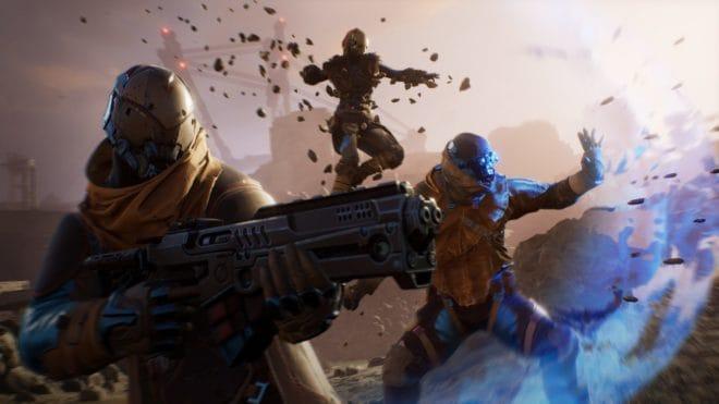 Outriders, un shooter classique avec des mécaniques RPG et une dimension coopérative.