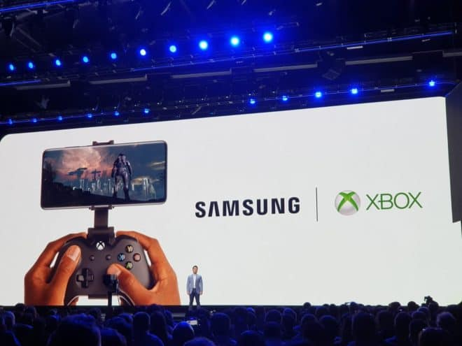 Microsoft et Samsung annonce un partenariat autour du cloud gaming.