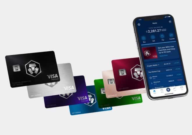 les différentes cartes métal de crypto.com