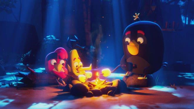 Une série Netflix pour Angry Birds.