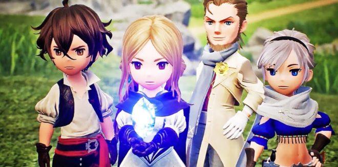 Les héros de Bravely Default 2 se montre dans un nouveau trailer.