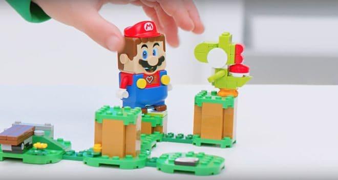 LEGO et Nintendo élèvent la construction à un nouveau niveau.