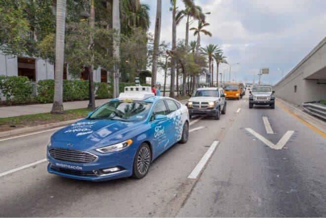 Ford taxi autonome