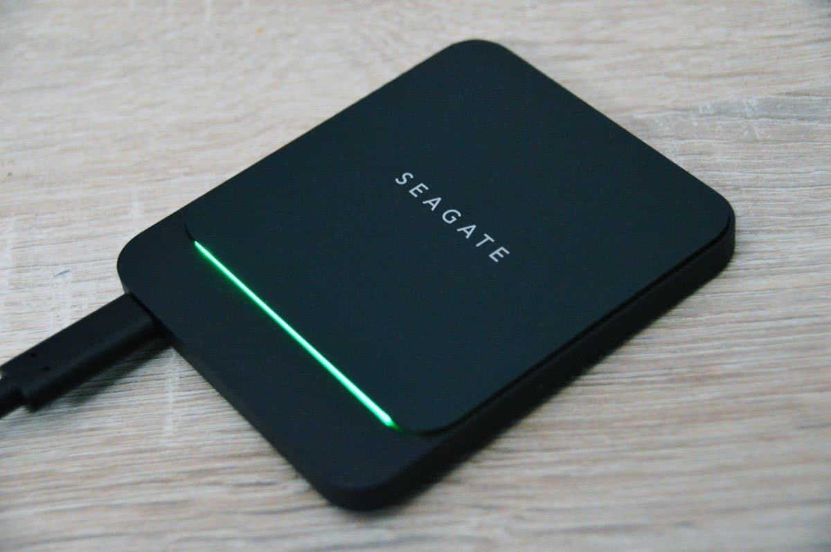 Test Seagate BarraCuda Fast SSD