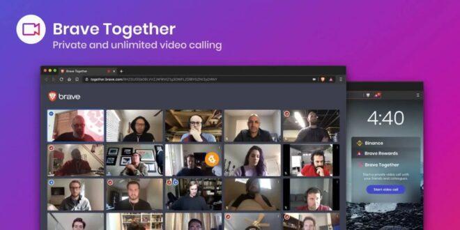 Brave Browser appels vidéo