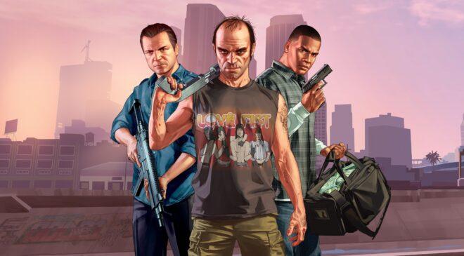 GTA 5 est disponible gratuitement sur l'Epic Games Store.