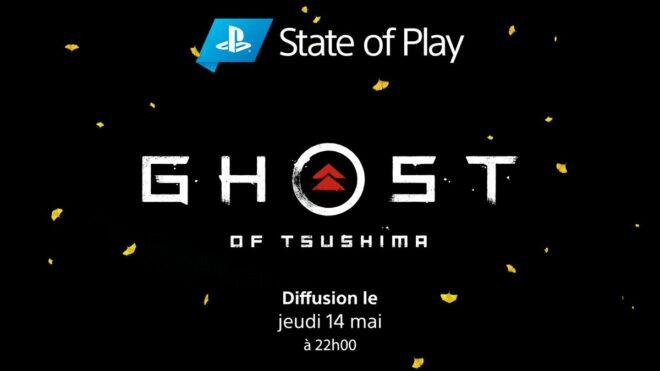 Un PlayStation State of Play dédié à Ghost of Tsushima est annoncé.