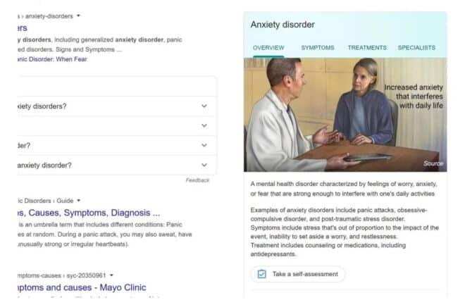 Google Anxiété