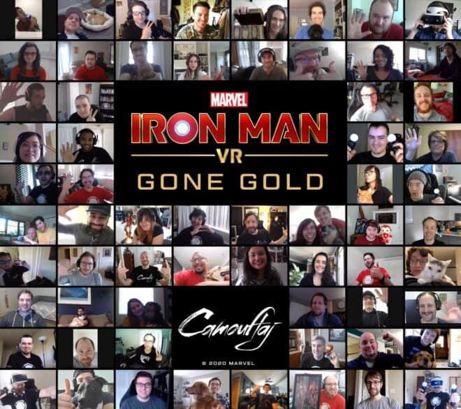 Iron Man VR est gold.