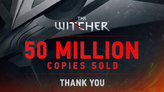 Les compteurs de ventes de The Witcher ont explosé.