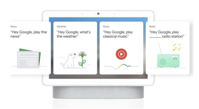 interface Google Smart Display