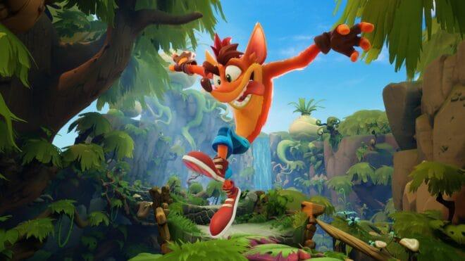 Crash Bandicoot 4 : It's About Time se dévoile dans une bande-annonce avec du gameplay.