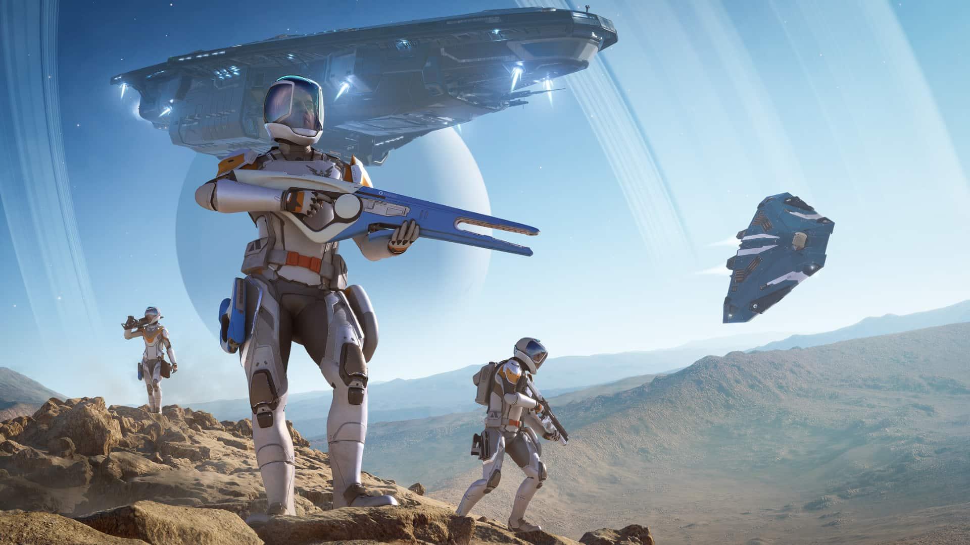 Elite Dangerous : Odyssey, une extension majeure pour 2021 misant sur l'exploration spatiale