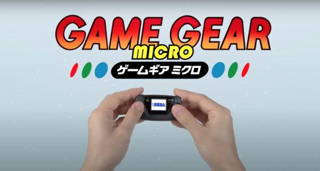 La Game Gear revient avec une version miniature.