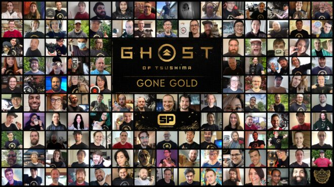 Ghost of Tsushima est gold.