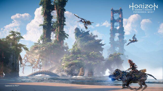 Horizon : Forbidden West sur PS5 est prévu pour 2021.