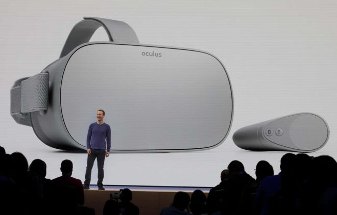 La commercialisation de l'Oculus Go va prendre fin.