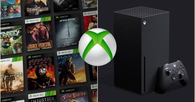 De nouvelles informations pour la rétrocompatibilité sur Xbox Series X.