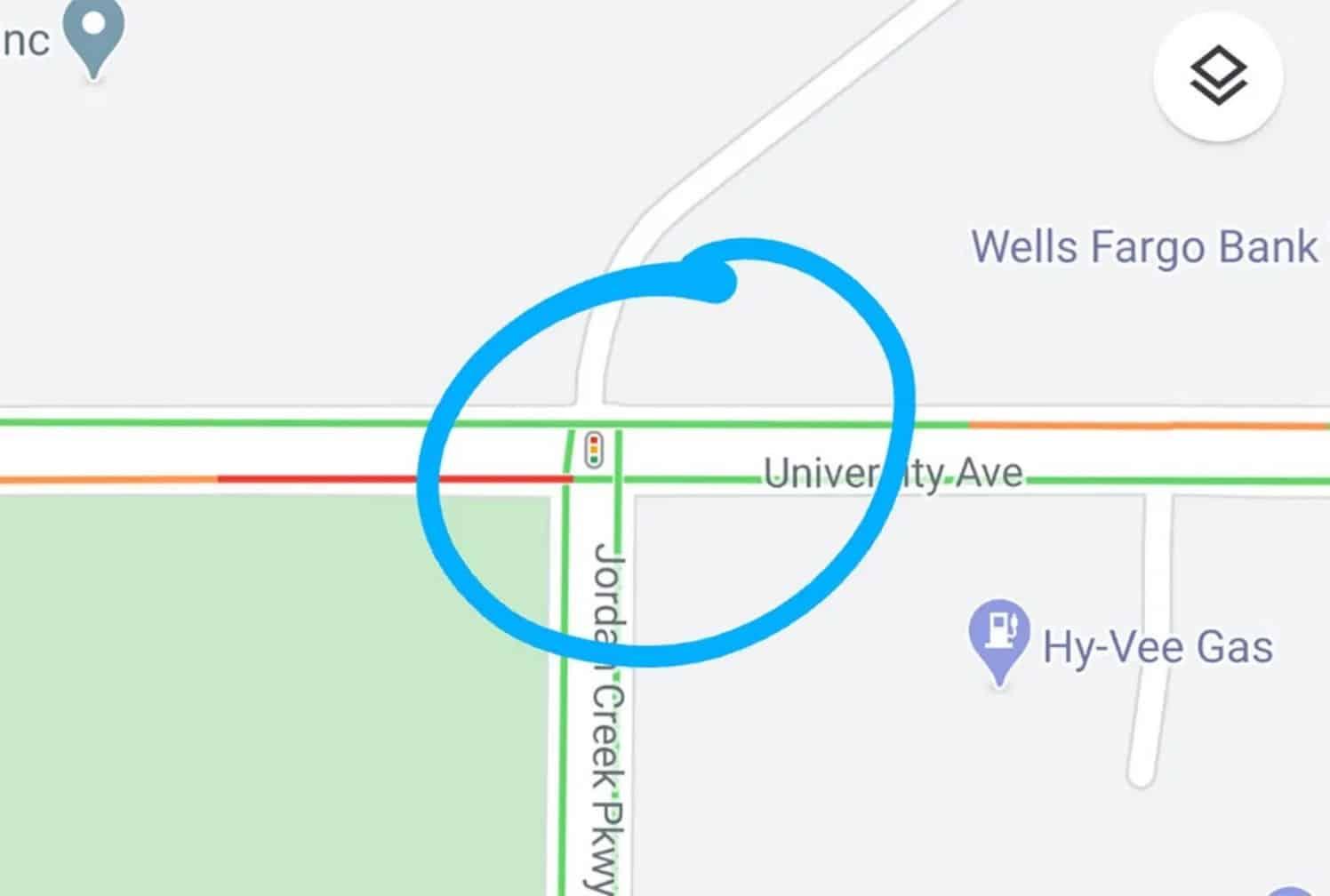 Google Maps pourrait bientôt indiquer l'emplacement des feux de circulation
